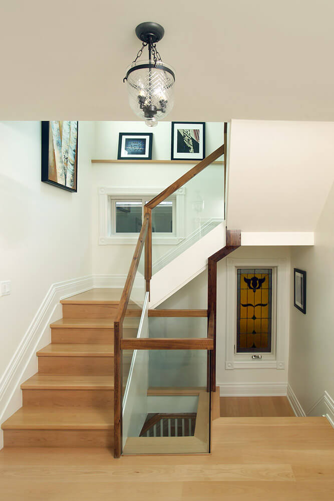 Redesigned staircase